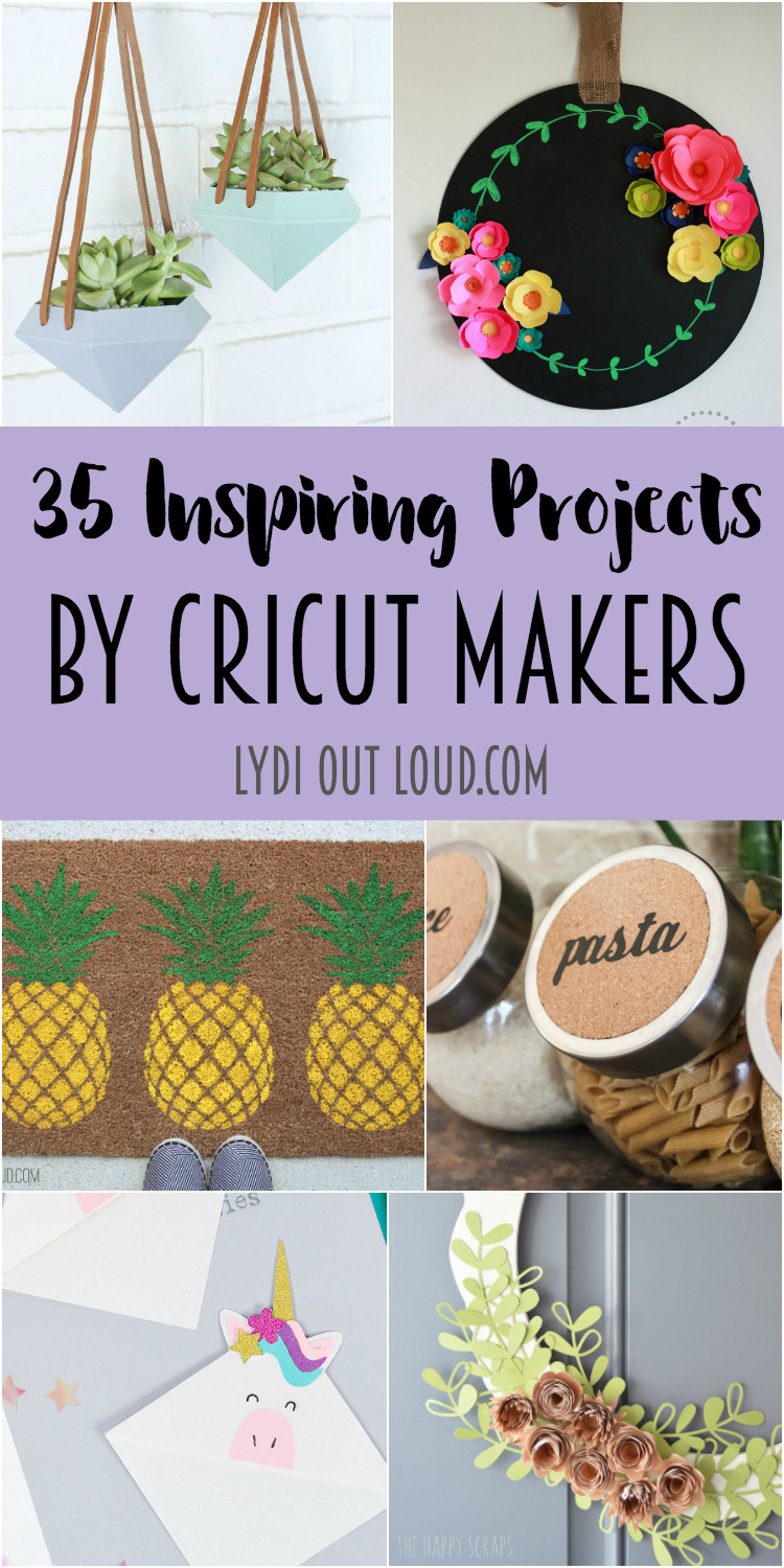 Best ideas about Cricut Craft Ideas . Save or Pin 35 Inspiring Projects by Cricut Makers Now.