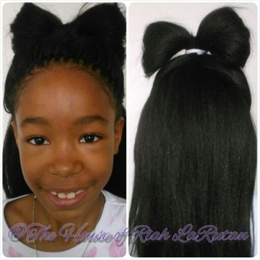 Best ideas about Crochet Braids Hairstyles For Kids . Save or Pin Straight crochet braids for kids Now.