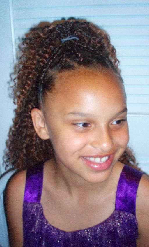 Best ideas about Crochet Braids Hairstyles For Kids . Save or Pin Crochet Braids For Kids With Cute Accessories Like Now.