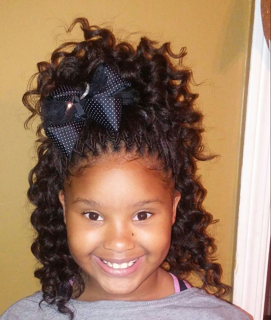 Best ideas about Crochet Braids Hairstyles For Kids . Save or Pin Crochet Hair Styles For Kids Now.