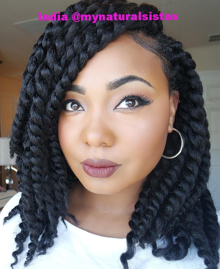 Croshay Braids Hairstyles  Protective Style Crochet Braids — I am Team Natural