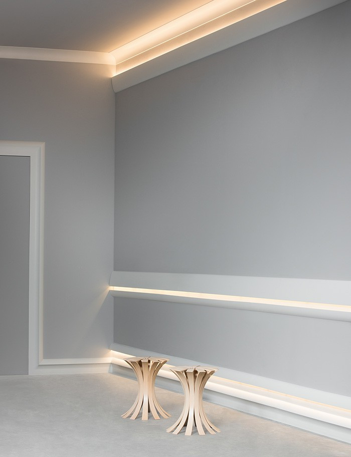 Best ideas about Crown Molding Lighting . Save or Pin DIY Crown Molding for Indirect Lighting GetdatGad Now.