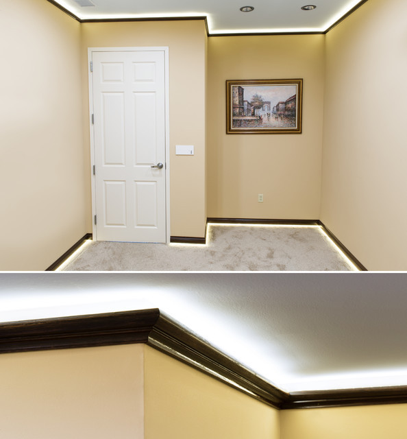 Best ideas about Crown Molding Lighting . Save or Pin LED Crown Molding Accent Lighting Home fice St Louis Now.