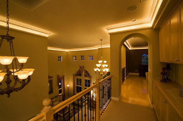 Best ideas about Crown Molding Lighting . Save or Pin crown molding lighting ideas Crown Molding Lighting And Now.