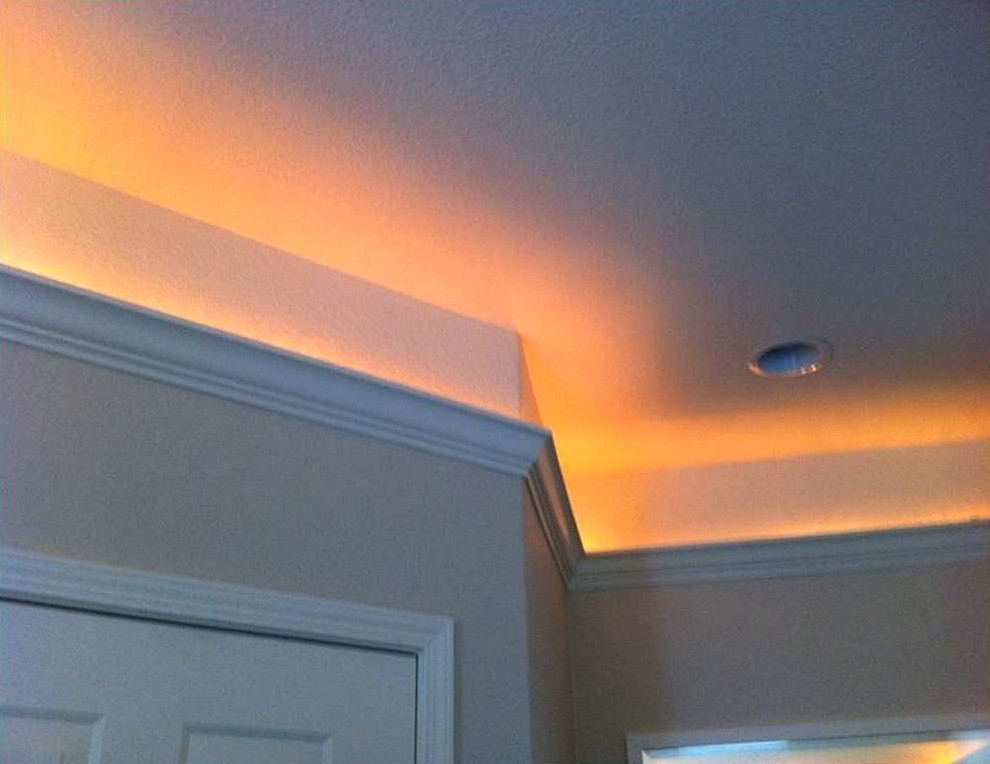 Best ideas about Crown Molding Lighting . Save or Pin Crown Molding Lighting And How To Make It Now.