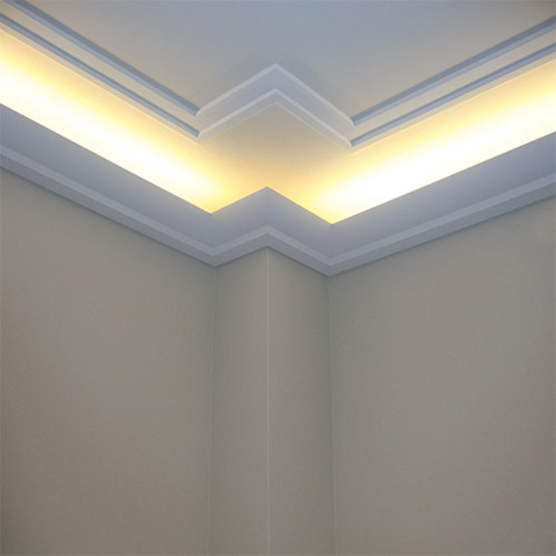 Best ideas about Crown Molding Lighting . Save or Pin 35 Ceiling Corner Crown Molding Ideas Decor Units Now.