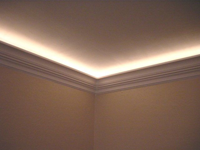 Best ideas about Crown Molding Lighting . Save or Pin Crown Moulding Odd Joint Finish Carpentry Contractor Talk Now.