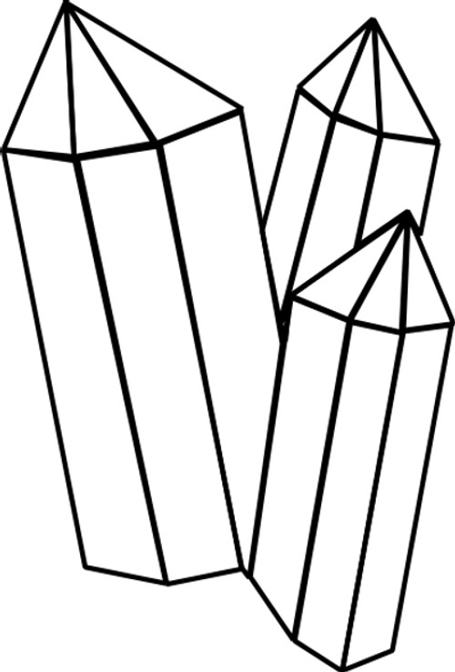 Crystal Coloring Pages  Gem Coloring Sheets Crystal Gems Pages grig3