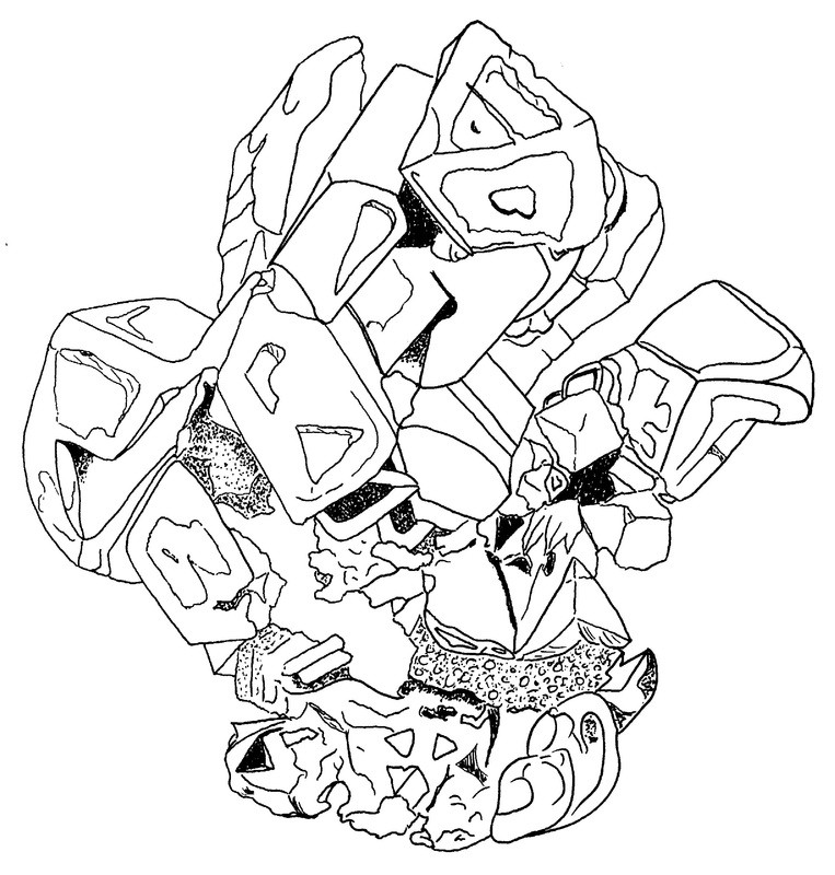 Crystal Coloring Pages  Crystal Color AZ Colorare