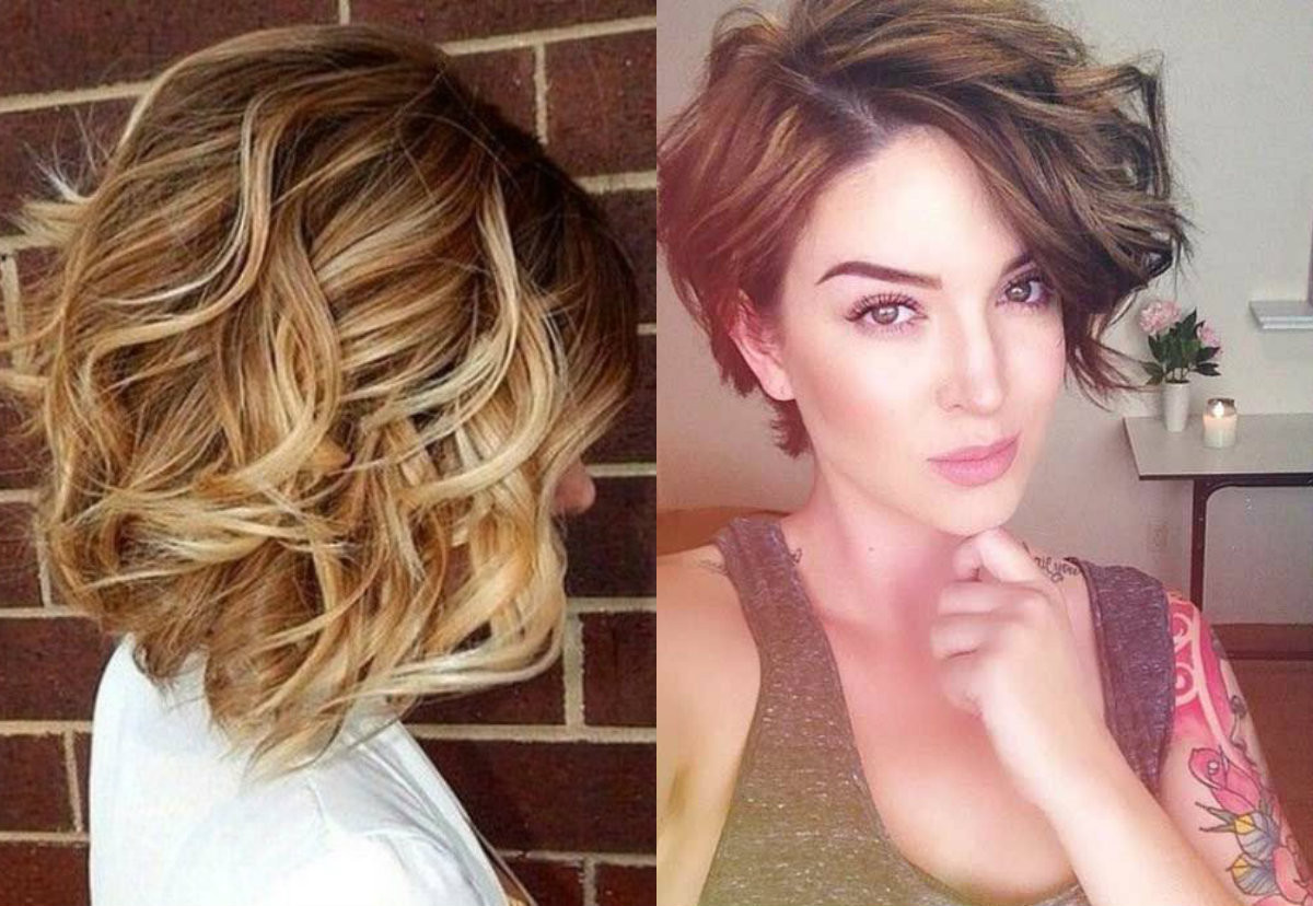 Curling Bob Hairstyle  Layered Bob Haircuts Ideas For Thin Hair