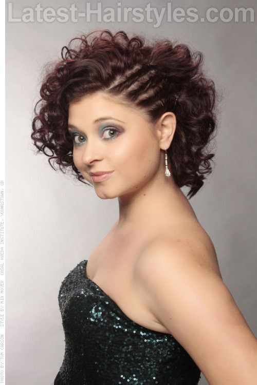 Best ideas about Curls Hairstyles With Braids . Save or Pin Rocked this style with long curly weave for my baby shower Now.