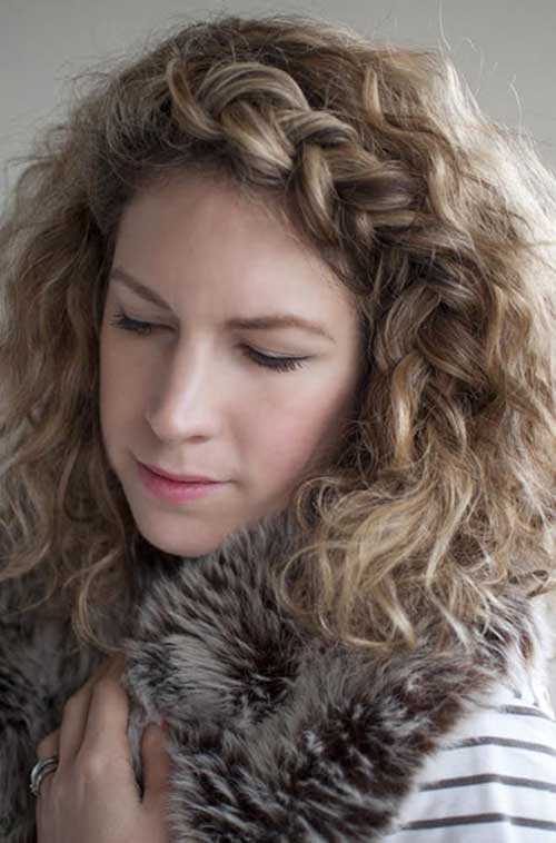 Best ideas about Curls Hairstyles With Braids . Save or Pin 20 Curly Hairstyles for Girls Now.