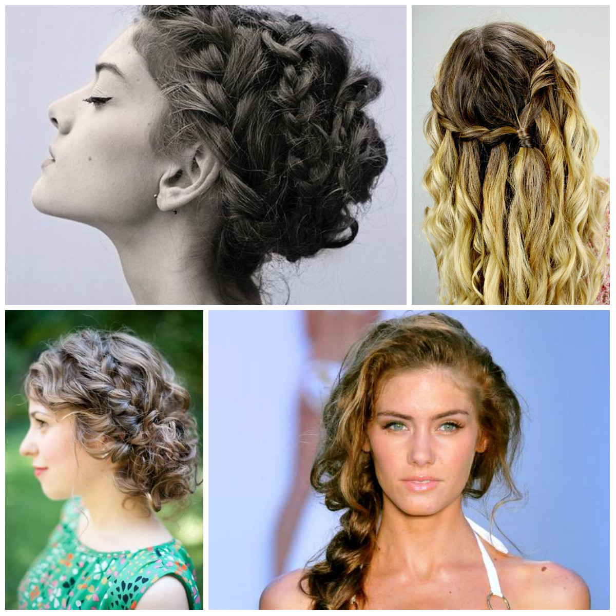 Best ideas about Curls Hairstyles With Braids . Save or Pin Trendspotting for Summer Curls 2016 Now.