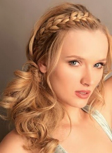 Best ideas about Curls Hairstyles With Braids . Save or Pin Hairstyles with braids and curls Now.