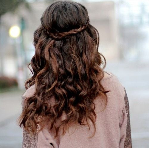 Best ideas about Curls Hairstyles With Braids . Save or Pin Curly Qs What are some cute braided hairstyles that work Now.