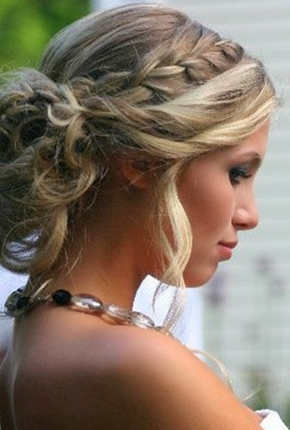 Best ideas about Curls Hairstyles With Braids . Save or Pin Curly Updo Hairstyle Ideas For Prom And Special Occasions Now.