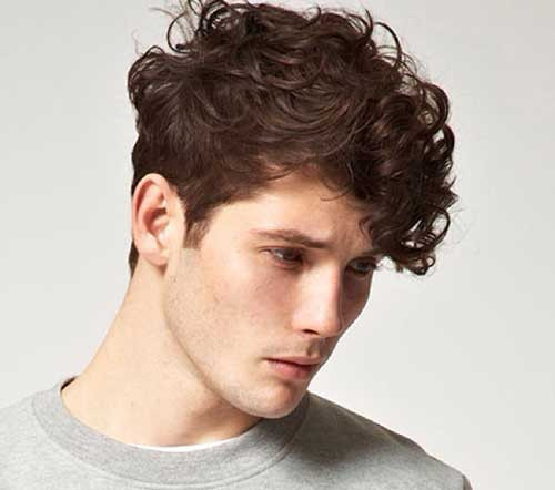 Curly Hair Mens Haircuts  Mens Curly Hairstyles
