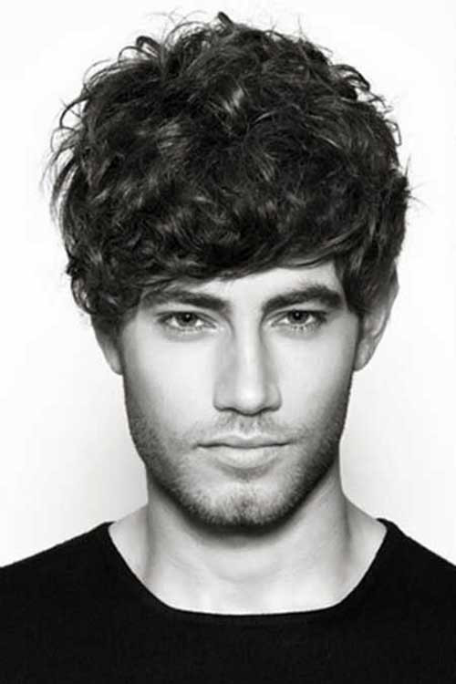 Curly Hair Mens Haircuts  20 Short Curly Hairstyles for Men