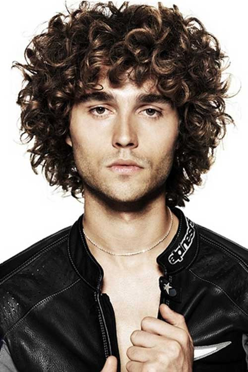Curly Hair Mens Haircuts  10 Curly Haired Guys