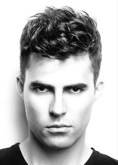Curly Hair Mens Haircuts  25 Haircuts for Men with Curly Hair