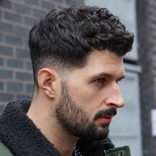 Curly Hair Mens Haircuts  47 Best Curly Hairstyles & Haircuts For Men 2019 Guide