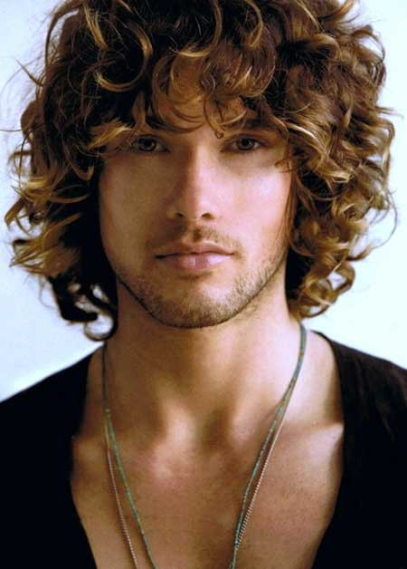 Curly Hairstyles For Guys  BLOG