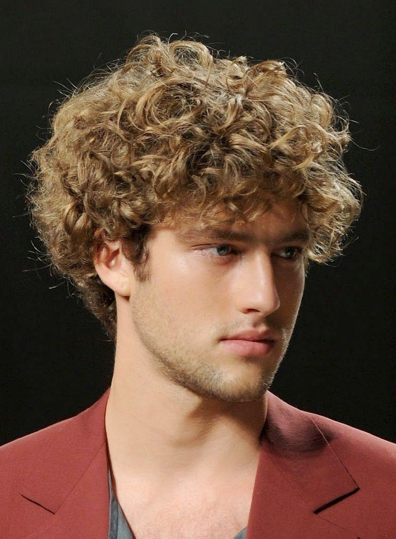 Curly Hairstyles For Guys  Curly Hairstyles For Men 2016 Mens Craze