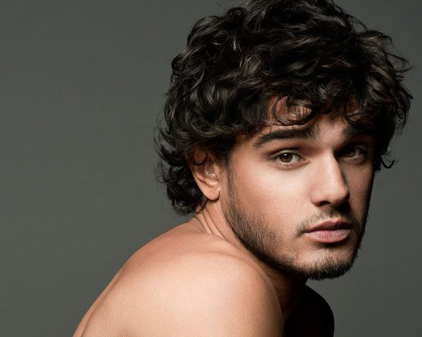 Curly Hairstyles For Guys  Stylish Wavy Hairstyles for Men 2014