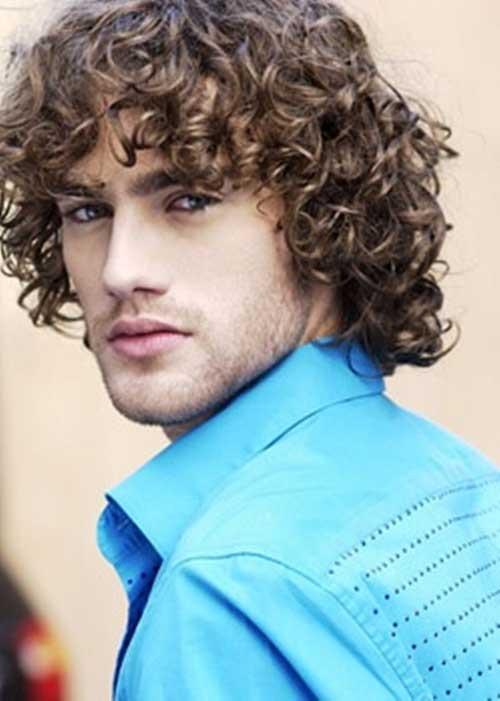 Curly Hairstyles For Guys  15 Curly Men Hair