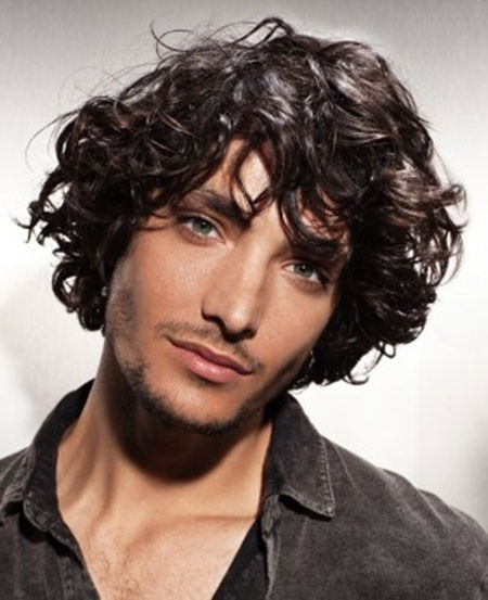 Curly Hairstyles For Guys  Cool Curly Hairstyles for Men