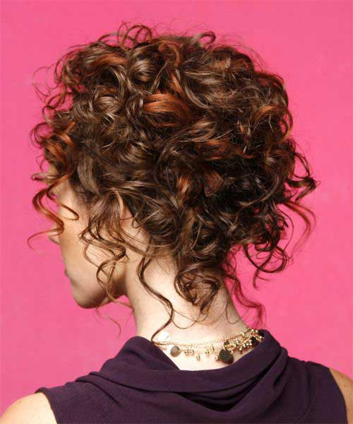 Best ideas about Curly Hairstyles Up Do . Save or Pin 25 of Curly Hairstyles Now.
