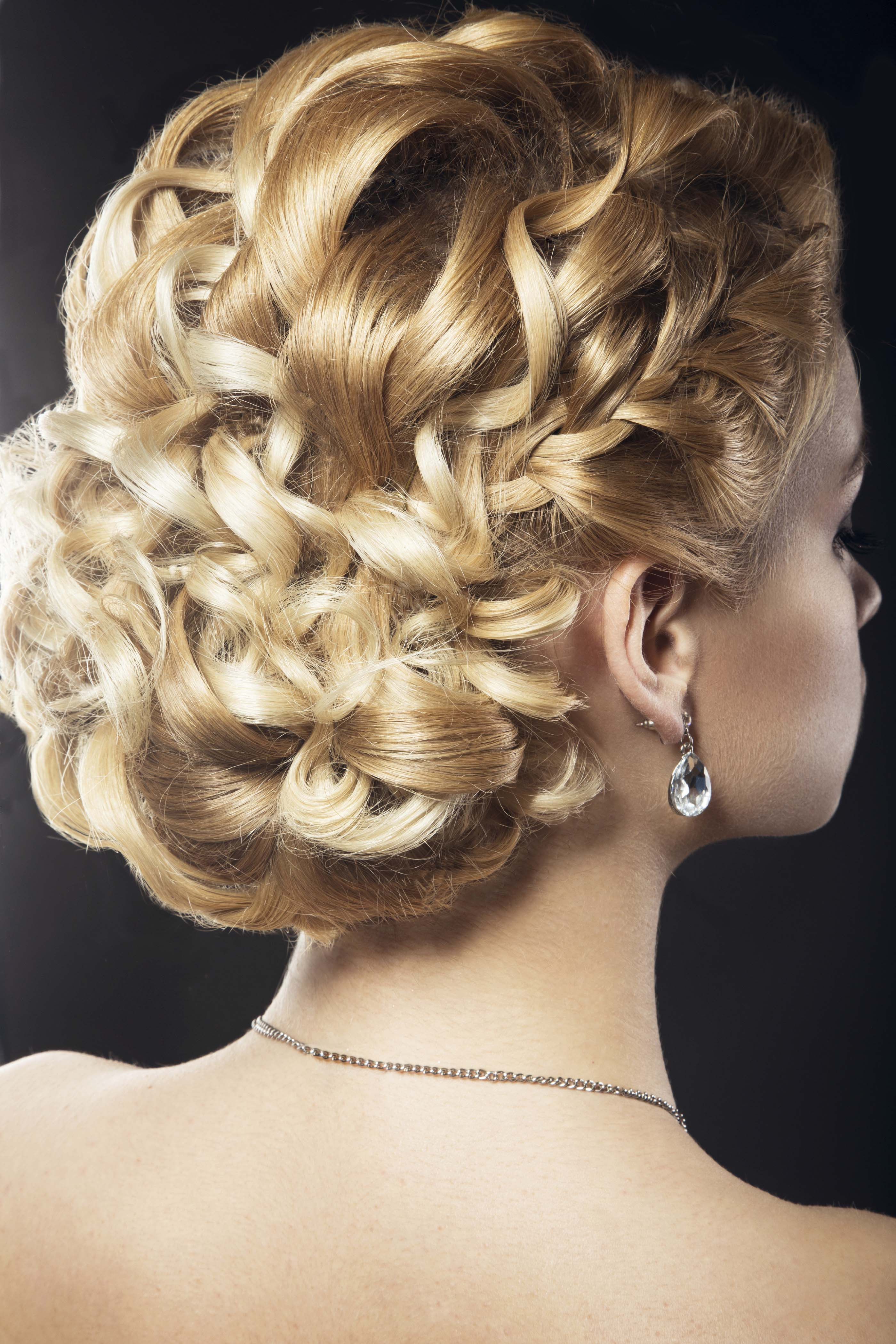 Best ideas about Curly Hairstyles Up Do . Save or Pin 9 Spring Wedding Updos for Curly Hair Now.