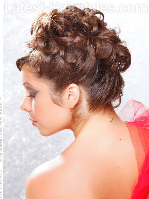 Best ideas about Curly Hairstyles Up Do . Save or Pin Show f Your Beautiful Curls With These Curly Hair Updos Now.