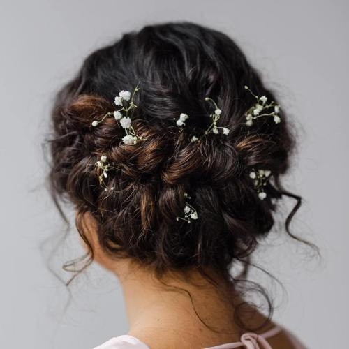 Best ideas about Curly Hairstyles Up Do . Save or Pin 40 Creative Updos for Curly Hair Now.