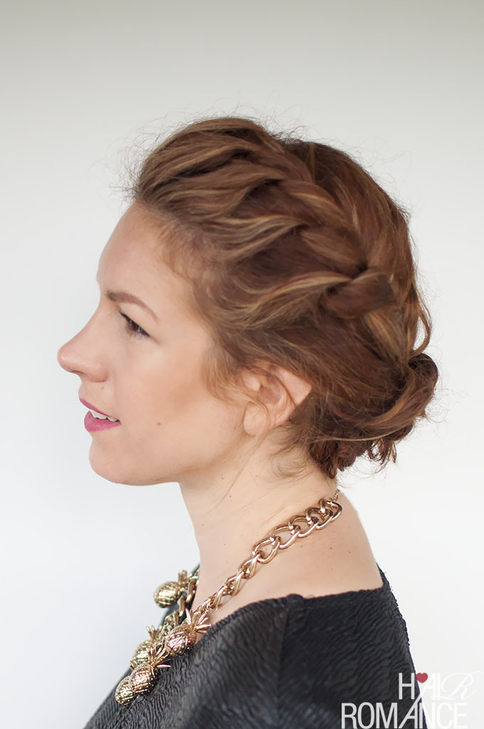 Best ideas about Curly Hairstyles Up Do . Save or Pin My quick everyday curly hair updo Hair Romance Now.
