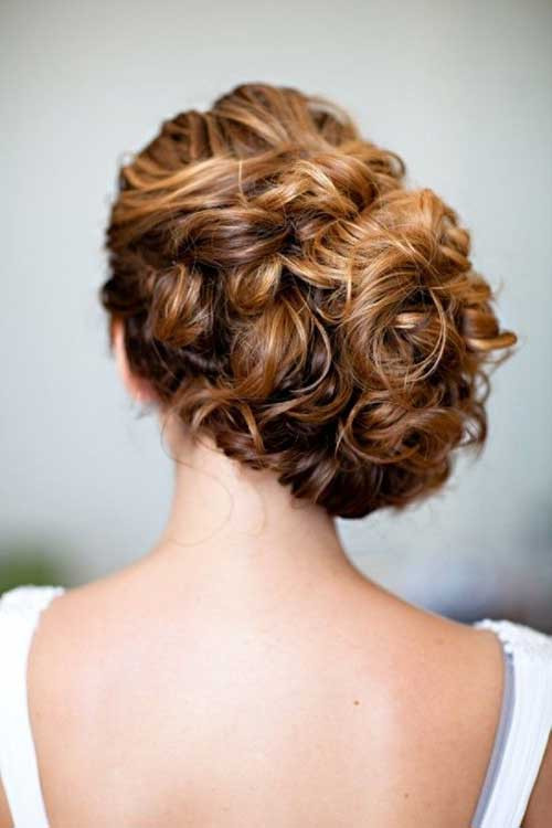 Best ideas about Curly Hairstyles Up Do . Save or Pin 23 New Beautiful Wedding Hair Now.