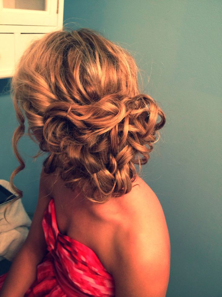 Best ideas about Curly Hairstyles Up Do . Save or Pin Curly Hairstyles For Prom Party Fave HairStyles Now.