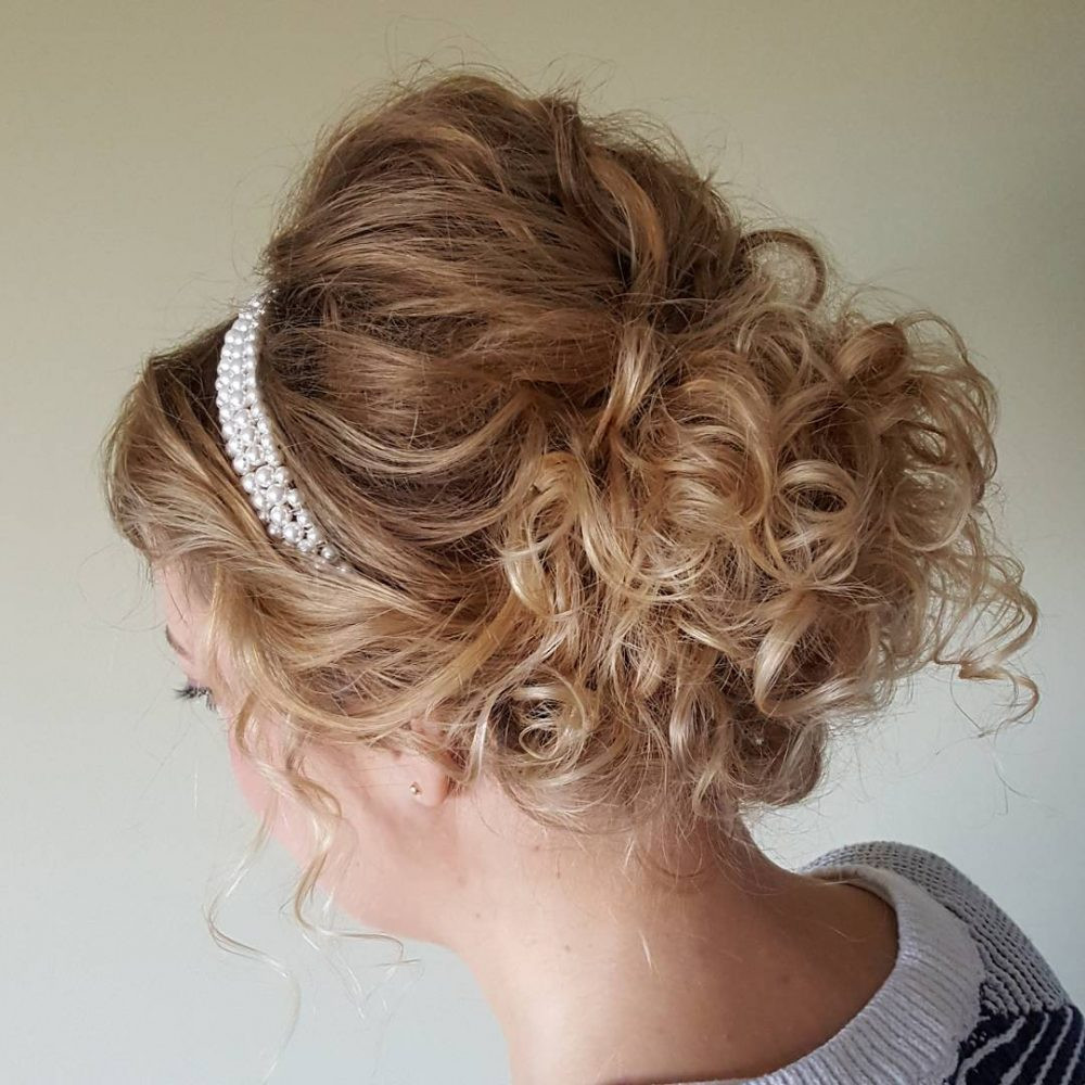 Best ideas about Curly Hairstyles Up Do . Save or Pin 36 Curly Updos for Curly Hair See These Cute Ideas for 2018 Now.