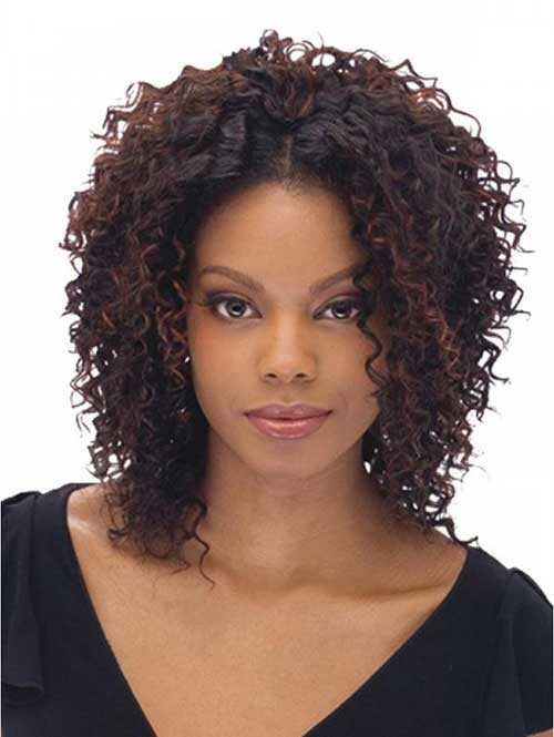 Curly Hairstyles With Weave  20 Short Curly Weave Hairstyles