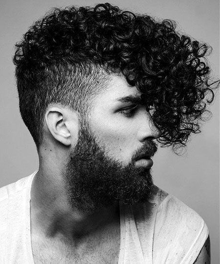 Best ideas about Curly Undercut Hairstyles . Save or Pin 20 Curly Undercut Haircuts For Men Cuts With Coils And Kinks Now.