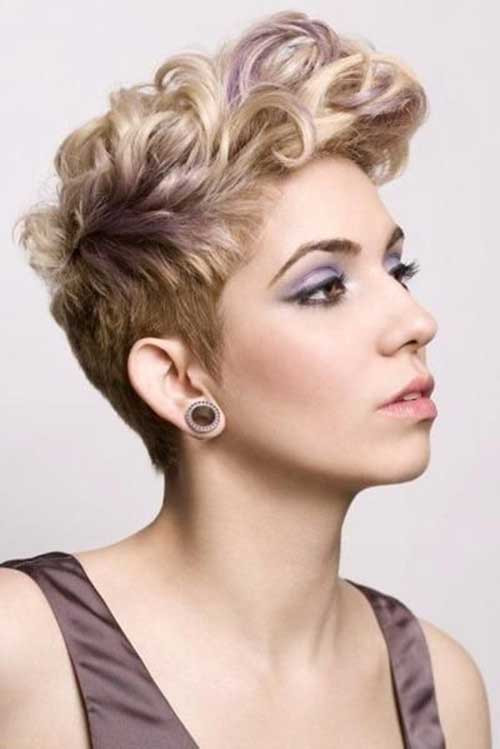 Best ideas about Curly Undercut Hairstyles . Save or Pin 20 New Curly Pixie Cuts Now.
