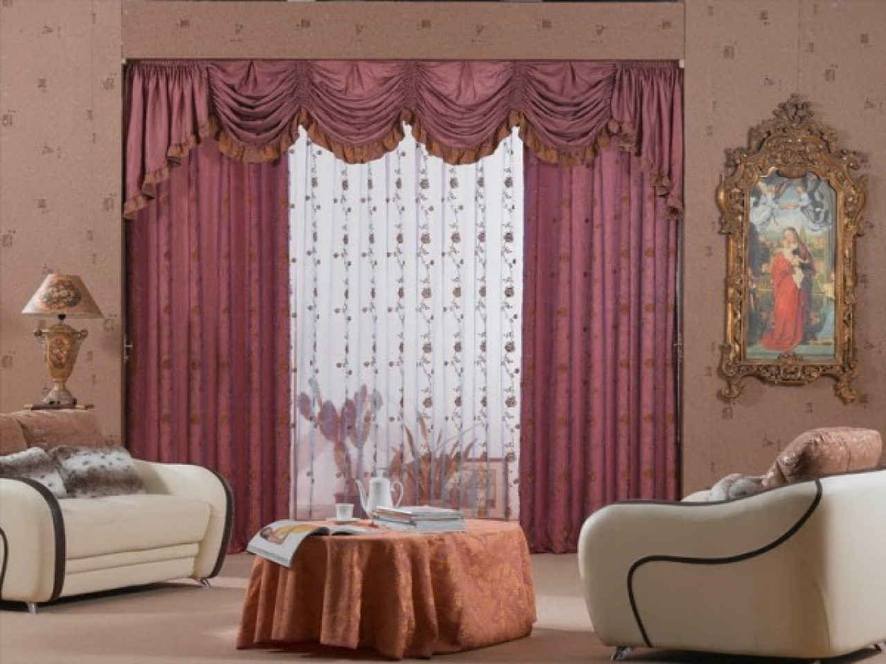Best ideas about Curtains For Living Room . Save or Pin Elegant Best Curtains for Living Room Style of Best Now.