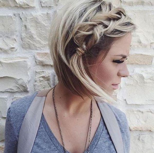 Cut Hairstyles For Short Hair  Braided Hairstyles for Short Hair Braids for Short Hair