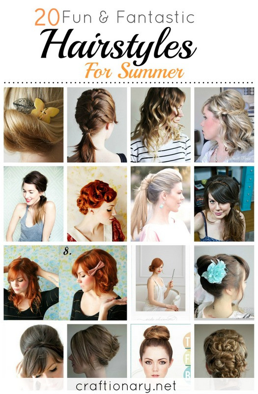 Cute And Fast Hairstyles  Craftionary