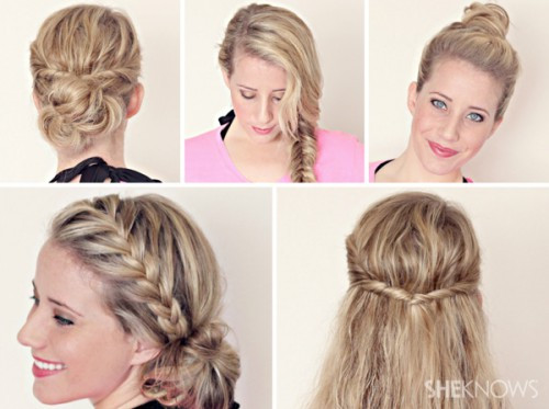 Cute And Fast Hairstyles  Quick And Easy Hairstyles For Long Hair