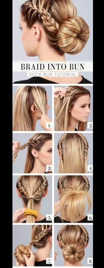 Cute And Fast Hairstyles  Cute easy fast hairstyles