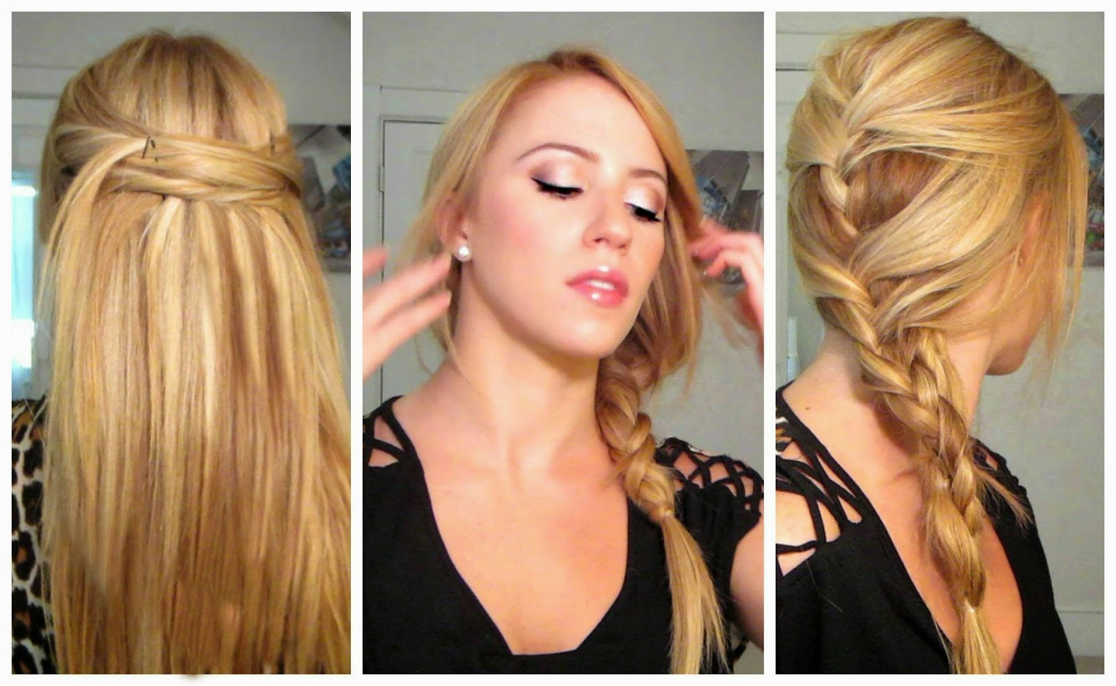 Cute And Fast Hairstyles  Easy Hairstyles Perfect Hairstyles