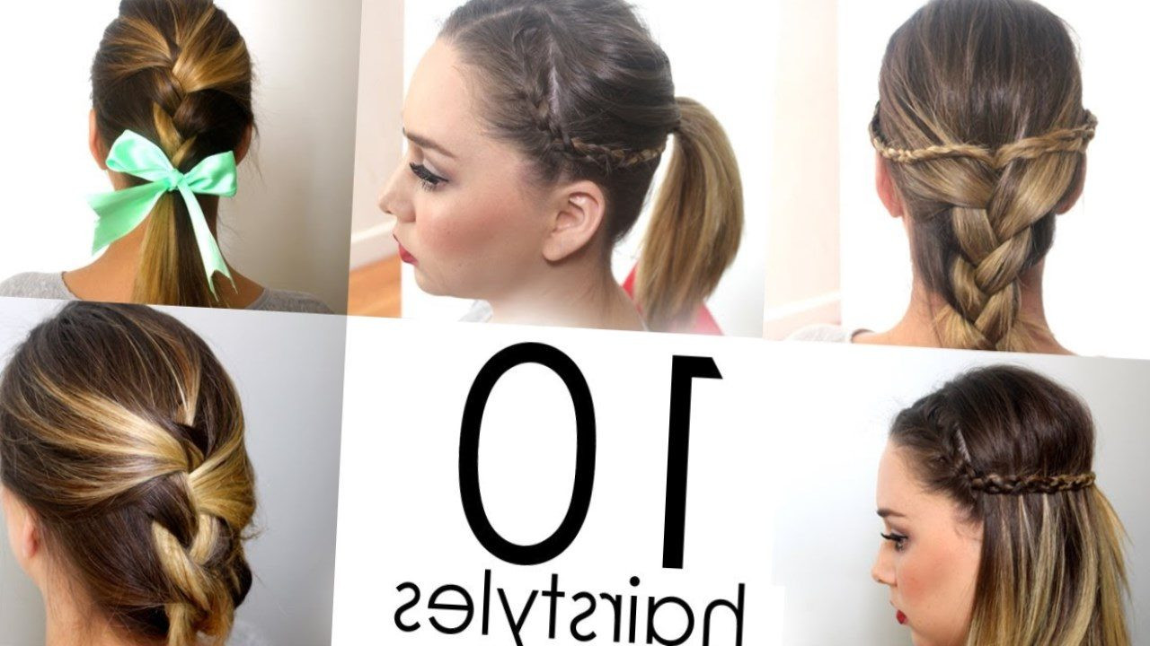 Cute And Fast Hairstyles  Your Guide to the Best Hairstyles New Ideas for 2019