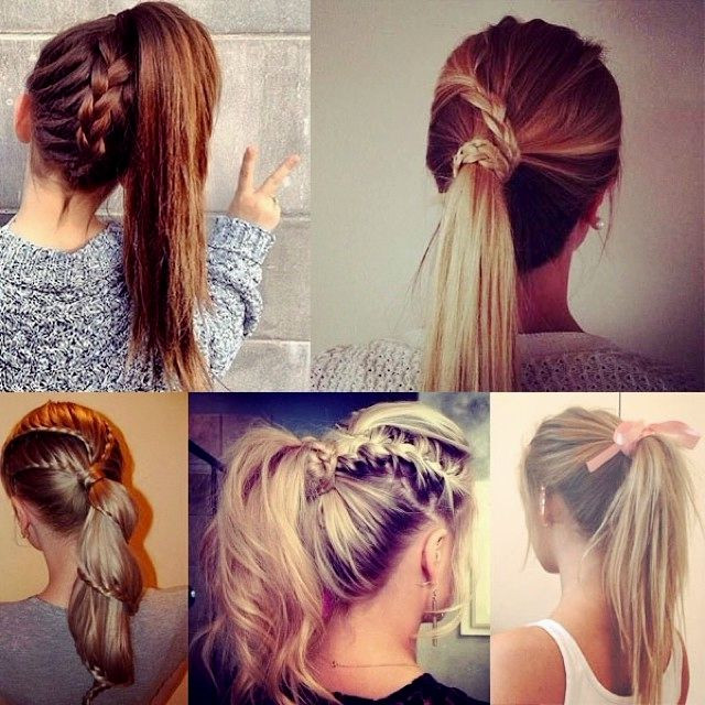 Cute And Fast Hairstyles  59 Easy Ponytail Hairstyles for School Ideas