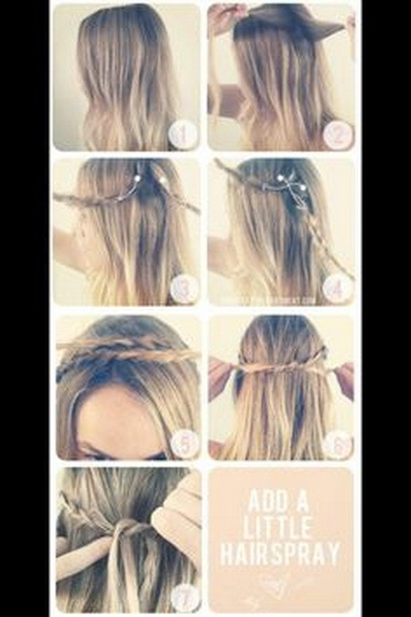 Cute And Fast Hairstyles  Hairstyles easy and quick and cute